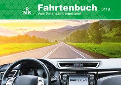 Fahrtenbuch A6 quer für PKW 32 Blatt, Schema über 2 Seiten