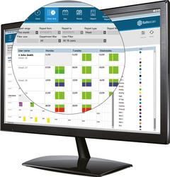 Software TimeMoto Plus für PC erf. Arbeitsstunden, Anwesenheit