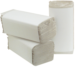 Falthandtuch Naturel Recycling, 23x25cm Zickzackfalzung,1-lagigVE = 1 Karton = 20 Packung je 250 Bl.