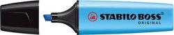 Textmarker Stabilo Boss Original 2-5mm blau nachfüllbar