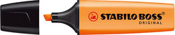 Textmarker Stabilo Boss Original 2-5mm orange nachfüllbar