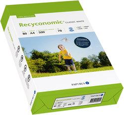 Kopierpapier Recyconomic ClassicWhite 70er ISO Weiße, CIE58, A3 80gVE = 1 Packung = 500 Blatt