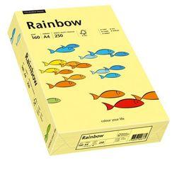 Kopierpapier Sky Rainbow A4 160g hellgelbVE = 1 Packung = 250 Blatt