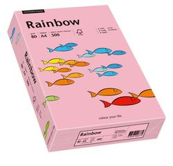 Kopierpapier Inkjet Rainbow A4 80g rosaVE = 1 Packung = 500 Blatt