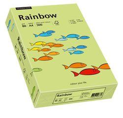 Kopierpapier Inkjet Rainbow A4 80g leuchtend grünVE = 1 Packung = 500 Blatt
