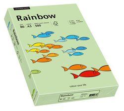 Kopierpapier Inkjet Rainbow A3 80g mittelgrünVE = 1 Packung = 500 Blatt