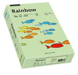 Kopierpapier Inkjet Rainbow A4 160g mittelgrünVE = 1 Packung = 250 Blatt