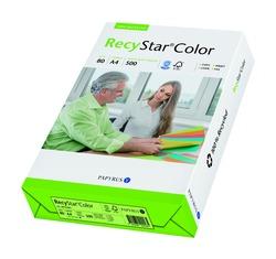 Kopierpapier RecyStar A4, 80 g/qm moosgrün, Recycling, f. Laser-,InkjetVE = 1 Packung = 500 Blatt