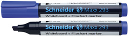 Boardmarker 293 mit Keilspitze, blau, geeignet für Whiteboard