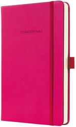 Notizbuch CONCEPTUM, 80g, Hardcover Softwave-Oberfläche, Deep Pink,