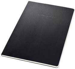 Notizeft CONCEPTUM, 80g, Hardcover, schwarz, 120 Seiten, liniert,