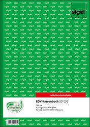 Kassenbuch EDV A4 hoch 1.u.2. Blatt bedruckt selbstdurchschreibend