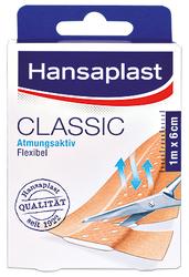Hansaplast, starres Wundpflaster, hautfarbenes Viskosegewebe,