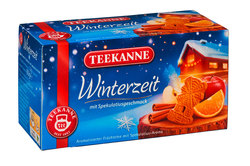 Tee Winterzeit, mit Spekulatius- geschmackVE = 20 Beutel x 2,5g