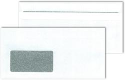 Briefumschlag DL mit Fenster, SK,ws Blickdicht, Sicherheitsschlitz undVE = 1 Karton = 1000 Stück