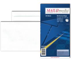 Briefumschlag kompakt, ohne Fenster, SK, 75 g/qm, weißVE = 1 Packung = 25 Stück