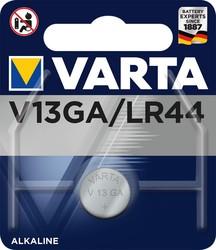 Knopfzelle V13GA A76 LR44 1,5V 125mAhVE = 1 Blister = 1 Knopfzelle