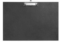 Schreibplatte A3 PP schwarz, q