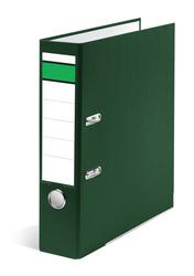 Ordner A4, PP/Papier, 80mm, grün