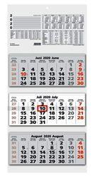 Dreimonatskalender 32x70 cm # 953-0011