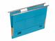 Hängemappe A4 mit Frosch blau 230g/qm Farbkarton, Beschriftungs- VE = 1 Pack = 5 Stück