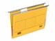 Hängemappe A4 mit Frosch gelb 230g/qm Farbkarton, Beschriftungs- VE = 1 Pack = 5 Stück