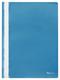 Schnellhefter A4, dokumentenecht, PP, blau, transparenter Deckel