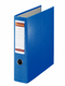 Postschekordner A4, 7,5 cm o.Kanten- schutz, blau, 2 x A5 quer abheftbar