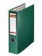 Postschekordner A4, 7,5 cm o.Kanten- schutz, grün, 2 x A5 quer abheftbar