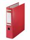 Postschekordner A4, 7,5 cm o.Kanten- schutz, rot, 2 x A5 quer abheftbar