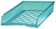 Briefkorb A4-C4, blau transparent, Außenmaß: B255 x T65 x H370,