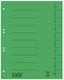 Trennblätter A4 vollfarbig grün mit Beschriftungslinien VE = 1 Packung = 50 Stück
