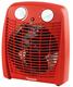 Heizlüfter, 2000W, rot variabler Thermostat, 4 Stufen