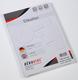 Büroring Etiketten f. Ordnerrücken kurz, breit, weiß, A4, 192 x 61 mm 1 Packung = 100 Blatt