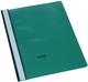 Büroring Schnellhefter, A4, grünPP-Folie, genarbter Deckel