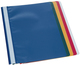 Büroring Schnellhefter A4 sortiert, PP-Folie,genarbter Deckel, 20 Stück, sortierte Farben