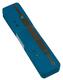 Heftstreifen kurz RC-Recycling mit Metalldeckleiste, blau VE = 1 Schachtel = 200 Stück