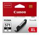 Tintenpatrone CLI-571XLBK schwarz für PIXMA MG5750, MG6850
