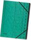 Ordnungsmappe A4 aus starkem 355g Colorspan-Karton, mit 12 Taben und
