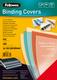 Umschlagfolie Color PVC Deckblatt A4 rot transparent, 200mic. VE = 1 Packung = 100 Stück