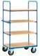 Etagenwagen,Ladefläche 1000x600mm Tragkraft 500kg, Gesamthöhe 1800mm