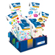 Schmucketikett Display DECOR Happy Birthday 60 Pack
