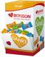 Herz-Bonbon mit Danke-Aufdruck in verschiedenen Sprachen 200 Stück im Karton