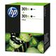 Tintenpatrone 301 XL schwarz für Deskjet: 1050, 1051, 1055, 1056, VE = 1 Pack à 2 Stück
