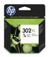 Tintenpatrone 302XL farbig für Deskjet 1110, OfficeJet 3830,