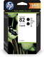Tintenpatrone 82 schwarz Doppelpack für Designjet 10PS,120,120NR,20PS VE = 1 Pack à 2 Stück