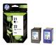 Multipack Tintenpatrone Nr.21/22 schwarz/farbig für Deskjet 3900 1 VE = 2 Tintenpatronen