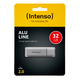Speicherstick Alu Line USB 2.0, silber, Kapazität 32 GB