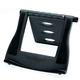 Laptopständer Easy Riser, schwarz, Neigungswinkel von bis zu 50°,