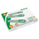 Klammernkassetten für Blockhefter 5551, 26/10 grün 5 Kassetten à 210 Klammern